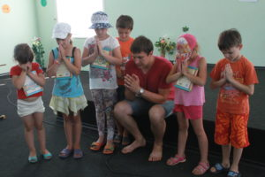 Alexei, School Without Walls leader in Ukraine
