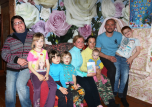 Family in need in Russia