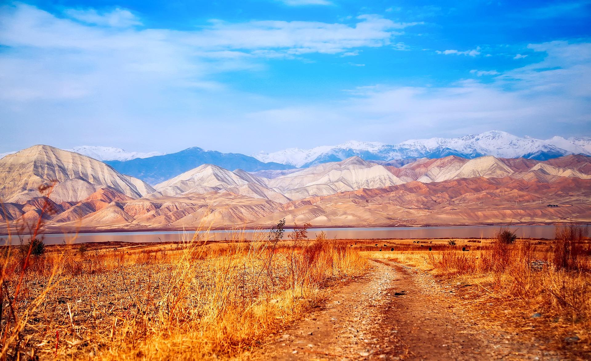 Kyrgyzstan mountain landscape