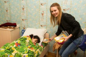 Alesya, School Without Walls leader in Belarus