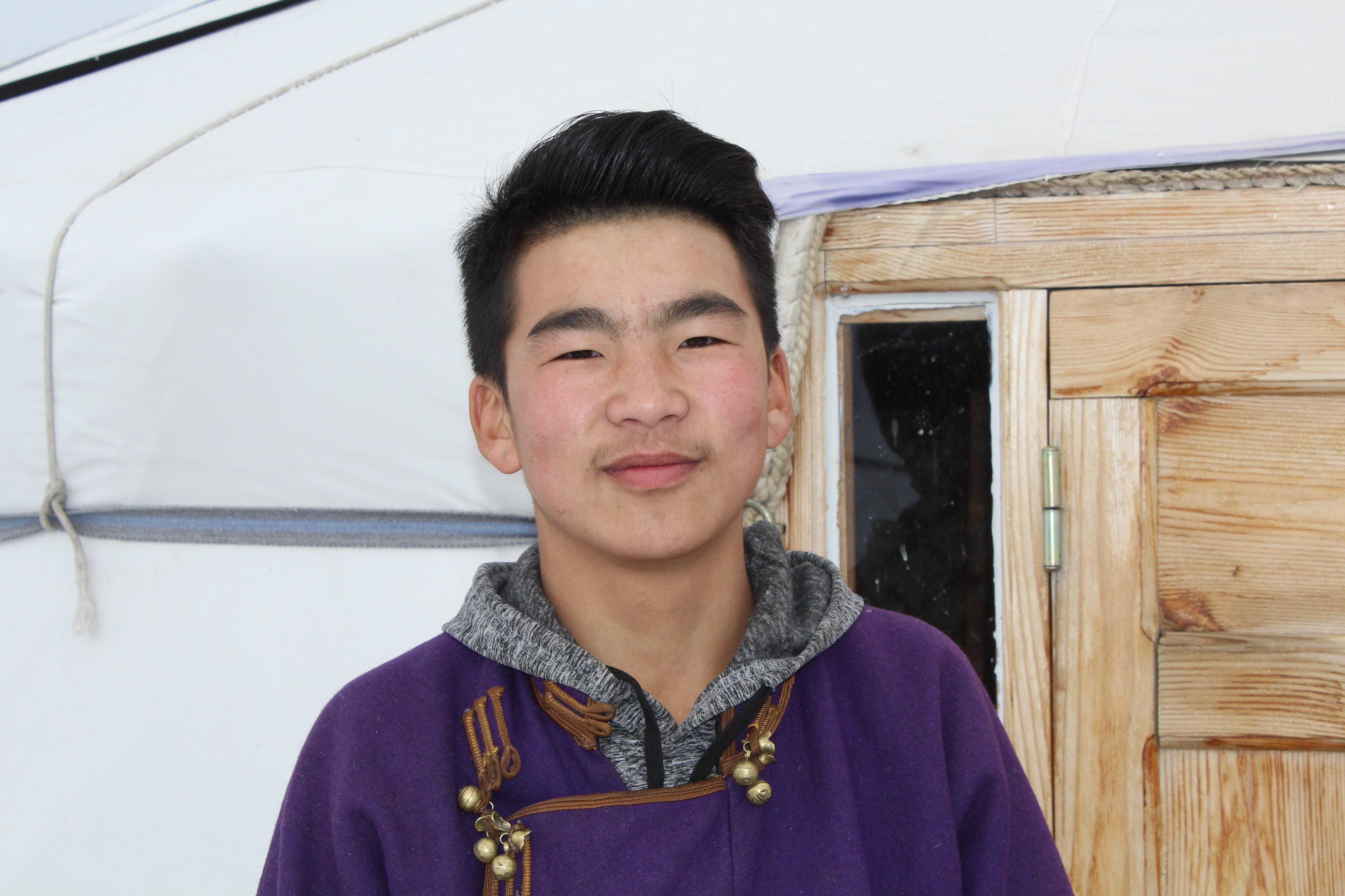 Aryunbold, School Without Walls leader in Mongolia