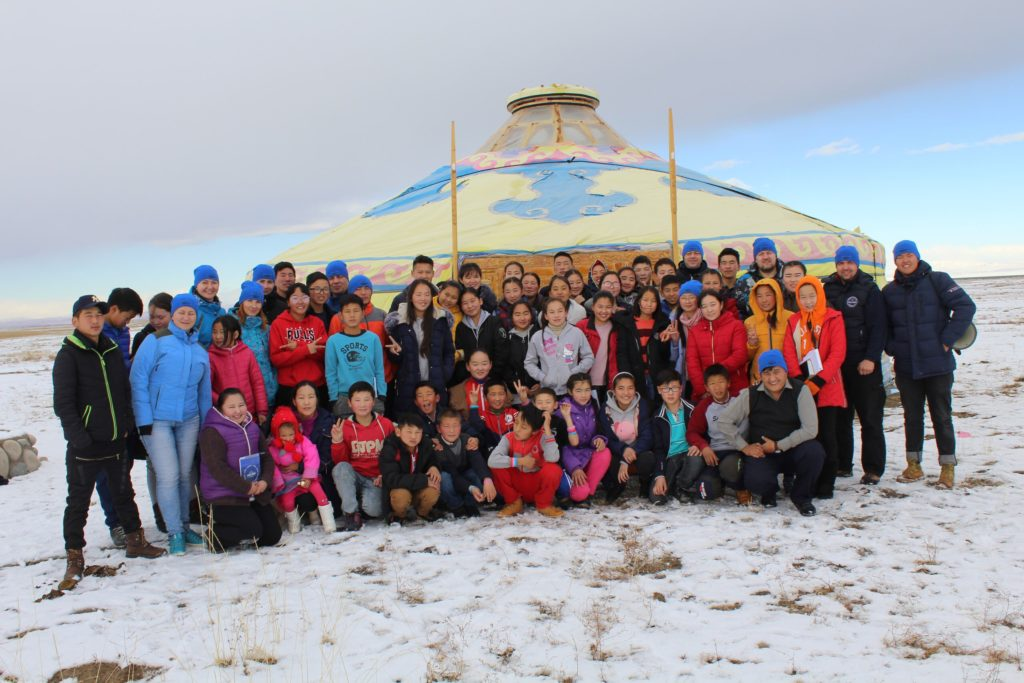 Young Christians Sharing Christ in Rural Mongolia