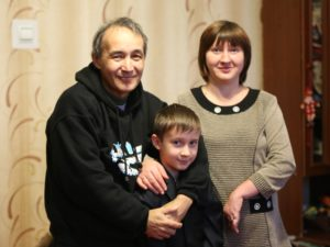 Lena, Gift of Hope and humanitarian aid recipient from eastern Ukraine