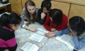 School Without Walls session in Kyrgyzstan