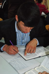School Without Walls session in Tajikistan