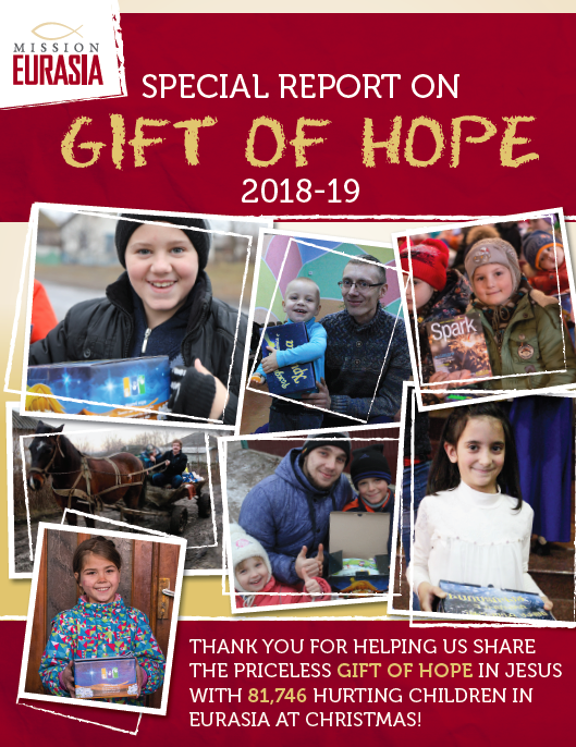 2018-2019 Gift of Hope Report