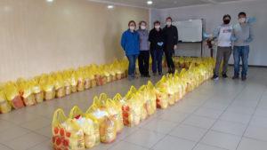 preparing deliveries