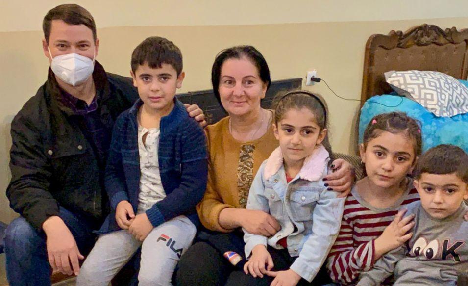 Mission Eurasia, Samaritan's Purse partner to bring food, hope to refugees