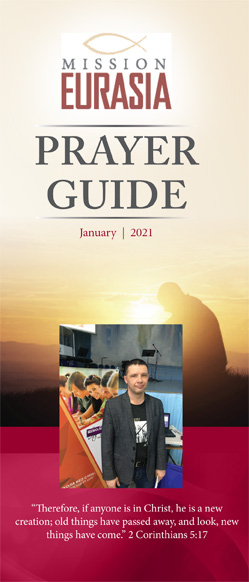 January 2021 Prayer Guide