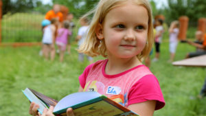 Evangeline's Story: 6-year-old sharing Christ at Bible camp