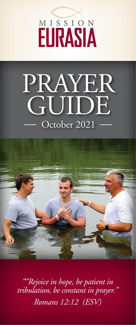 October 2021 Prayer Guide